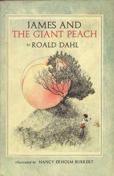 Vintage book - James and the Giant Peach. My favourite Roald Dahl book as a child!