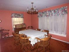 9026 S Lake Rd, Corfu, NY 14036 | Zillow Corfu, Valance Curtains, Homesteading, Home And Family, Building, Home Decor, Buildings, Interior Design, Home Interior Design