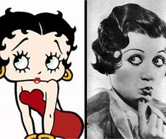 The real life Betty Boop was pretty much identical to the cartoon made based on her looks and her singing style. Helen Kane sang the same songs. Easy Workouts, Betty Boop, Real Life, Cartoon, Helen Kane, Bedroom Flowers, Bahubali Movie, Japanese Ginger, Parasite Cleanse