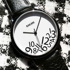 What Time? by Rakani, a classic watch for your creative style. #FashionablyLateCollection