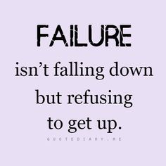 Get up and dust yourself off!!! Your fall DOWN is preparing you for your come UP!!!❤....we learn valuable lessons every time we fall. Use that wisdom to get up and try again. Failure should never be your option! #lifelesson101 #positivethinking #positiveenergy