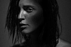 Dark portrait.