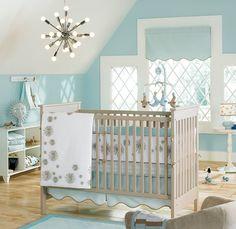 quarto de bebe menino tema oceano