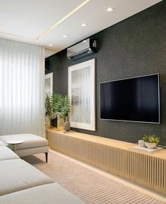 [New] The 10 Best Home Decor (in the World) Living Room Bedroom, Living Room Decor, Living Room Tv Unit Designs, Tv Wall Decor, Tv Wall Design, Bohemian Style Bedrooms, Home Tv, White Furniture, Cheap Furniture