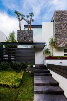 Fotos de Casas de estilo Moderno : Ingreso