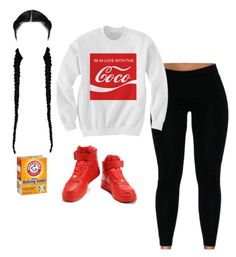 """I GOT FOR THE LOW LOW"" by itsbabya1 ❤ liked on Polyvore featuring NIKE"