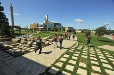 Most Beautiful University Campuses In Canada Lakehead University, University Of Calgary, Grenfell Campus, Sherbrooke Quebec, Canadian Universities, Laval, Student Travel, Quebec City, Places