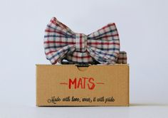 Oh, the Mats. A classic, yet fresh choice if it comes to checkered bow ties.