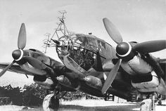 Heinkel He111 H-18 with FuG 200 Hohentwiel radar and torpedos 1943