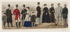 Fashion plate, (British or French) 1862