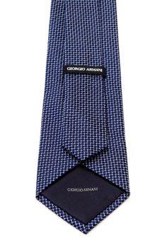 Giorgio Armani Uomo Silk Print Tie on HauteLook