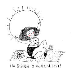 La felicidad de un día soleado. - Sara Fratini