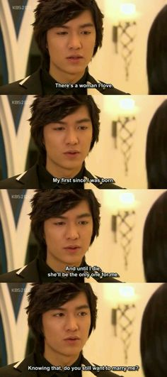 Gu Jun Pyo (Boys Before Flowers) about his love for Jan Di to Ha Jae KyungYou can find Boys over flowers and more on our. F4 Boys Over Flowers, Boys Before Flowers, Flower Boys, Korean Drama Funny, Korean Drama Quotes, Geum Jan Di, Ji Hoo, Kim Bum, W Two Worlds