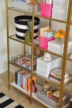 interior design shelves - Shelves, Home decorating and Bookshelves on Pinterest