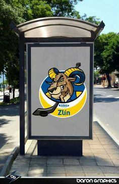 #hokej zlín #hockey logos #zlín #baron graphics design
