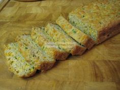 Low Carb jalepeno cheese bread (great for stuffing)