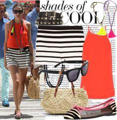 """""""165. Olivia Palermo out in Mykonos, Greece - 1 August 2013"""" by zaandupreez on Polyvore"""