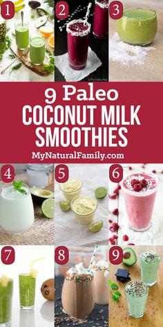 Paleo Coconut Milk Smoothie Recipes