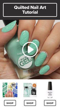 How to Get a Criss Cross Manicure #darbysmart #beauty #nailpolish #nailart #naildiy #naildesign #nailtutorial