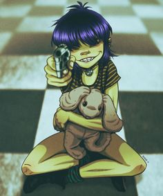Noodle Mathilda by EddieHolly on DeviantArt