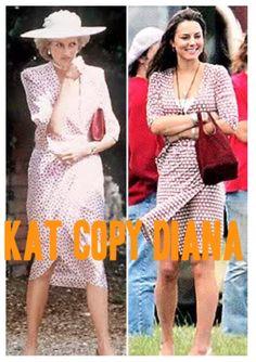 Kate Middleton copies Diana
