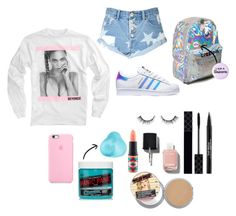 """Untitled #2"" by xrvneem on Polyvore featuring Glamorous, adidas, Gucci, Chanel, Trish McEvoy and MAC Cosmetics"