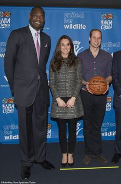 Kate Middleton wears Tory Burch to an event for Tusk Trust and a Brooklyn Nets game, December 2014.