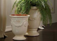 Anduze No.4 Ivory Planter