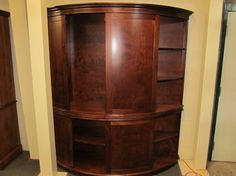 Crescent Storage Cabinet - eclectic - bookcases cabinets and computer armoires - columbus - Geitgey's Amish Country Furnishings