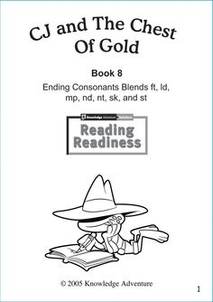 """""""CJ and the Chest of Gold"""" – Free Printable Reading & Coloring Worksheets for Kids #JumpStart"""