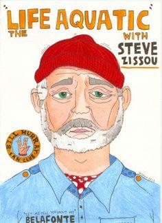 """The life aquatic with Steve Zissou"" Susana López"