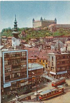 Na špacírke po Bratislave: Obchodný dom Baťa - BratislavaDen. Bratislava Slovakia, European Destination, Old City, Public Transport, Old Photos, Big Ben, Paris Skyline, Mansions, Building