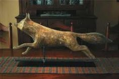 Fox weathervane. Love this