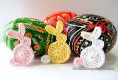 Easter Bunny Applique Crochet