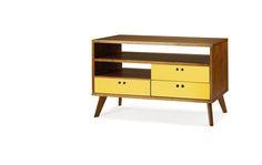 Rack Leblon Amarelo - Móveis e objetos de design assinado - Entrega em todo o Brasil