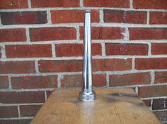 Vintage Fire Hose Nozzle Seco Fire Equipment Industrial Art Lamp Base Chrome Brass on Etsy, $24.00