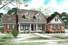 Three Bedrooms, Four And One-Half Baths - 5918ND | Architectural Designs - House Plans