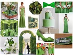 """GREEN WEDDING"" by highglosswed on Polyvore"