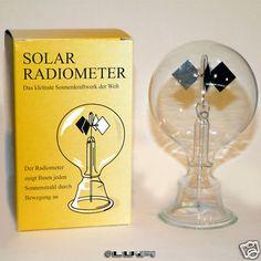 Solar Radiometer Lightmill Crookes Light Windmill