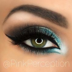 Face make up Kiss Makeup, Eyebrow Makeup, Makeup Geek, Eyeshadow Makeup, Beauty Makeup, Makeup Eye Looks, Blue Makeup, Saint Patricks Day Makeup, Makeup Trends