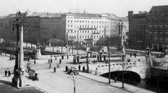 Looking East over Oranienplatz - Berlin, Germany, 1925