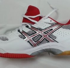 - Asics Gel Tactic shoes - non marking gum soles. Light-weight shoes ideal for men and women Squash Shoes, Asics, Lady, Heels, Sneakers, Men, Shopping, Fashion, Heel