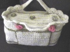 Crochet Baby Diaper Bag Patterns : Crochet Diaper Bag on Pinterest Crocheting, Crochet ...