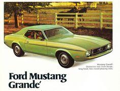 1973 Mustang Grande