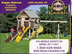 Playsets, Playscapes and Swingsets in Long Island, NY Long Island, Kids Playing, Perfect Place, Gazebo, Shed, Kiosk, Lean To Shed, Deck Gazebo, Backyard Sheds