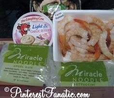 Pinterest Fanatic | Ultimate Fan Club for Recipes and Giveaways: 200 Calorie Shrimp Fettuccini with Miracle Noodle!
