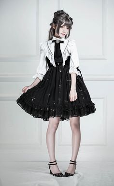 Lost Angel -The Night Witch- Gothic Lolita JSK Short Version