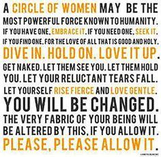 Women's Circles - Embracing the Feminine