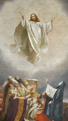 by-grazia di dio: Oggi il nostro Signore Gesù Cristo asceso al cielo;  lasciare che i nostri cuori salgono con lui.  Mentre in cielo è anche con noi;  e noi, mentre sulla terra sono con lui.  Lui è qui con noi per la sua divinità, la sua potenza e il suo amore.  Non possiamo essere in cielo, come egli è sulla terra, dalla divinità, ma in lui, possiamo essere lì per amore.  Fuori di compassione per noi scese dal cielo, e anche se è salito da solo, abbiamo anche salire, perché noi siamo in…