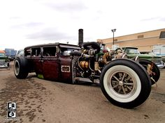 Carro  Hot-rod Rat Rod diesel